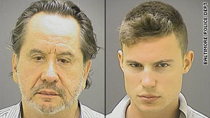 Barry Landau, left, and Jason Savedoff are charged with stealing historical documents.