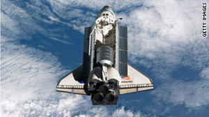 "NASA is inviting the public to enjoy an ""All-American Meal"" with the crew of the space shuttle Atlantis."
