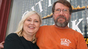 Sharon and Gerald Birkelbach own City Meat Market, one of Texas Monthly Magazine's top 50 barbecues.