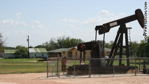 Oil production is down, but residents are hoping a new oil boom will help the area's economy.