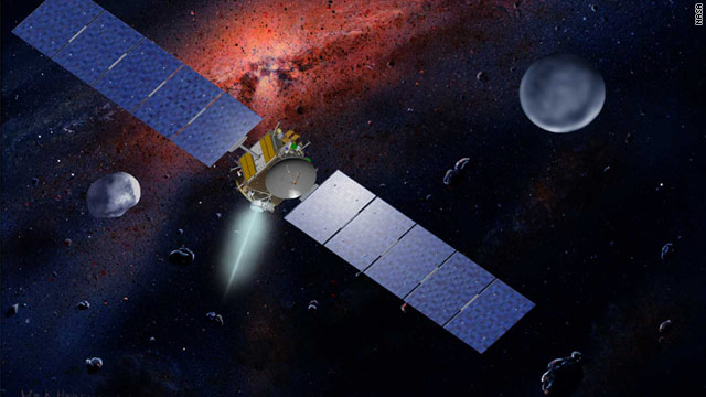 "Dawn will ""ease up"" next to Vesta and be captured in orbit by the asteroid's gravity, NASA said."