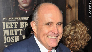 Rudy Giuliani says people should not rush to judgment about his friend, Rupert Murdoch, in the alleged hacking scandal.