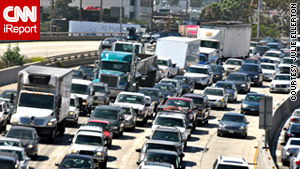 The 405 is a concrete thief that steals hours as you take agonizing drives in awful traffic, the author writes.