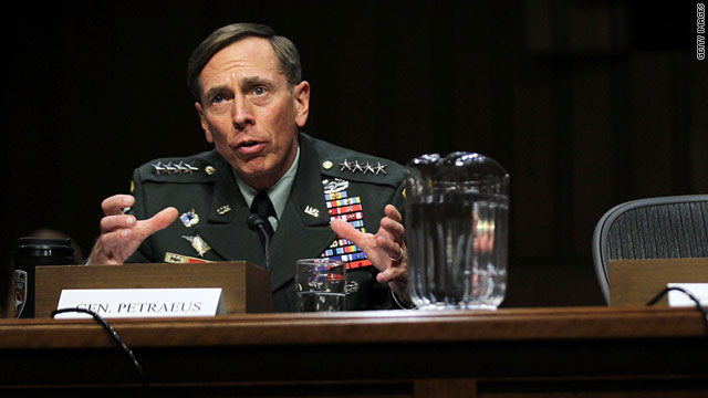 Petraeus back from Baghdad