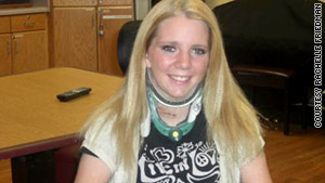 Rachelle Friedman, 25, was paralyzed after an injury at her bachelorette party 14 months ago.