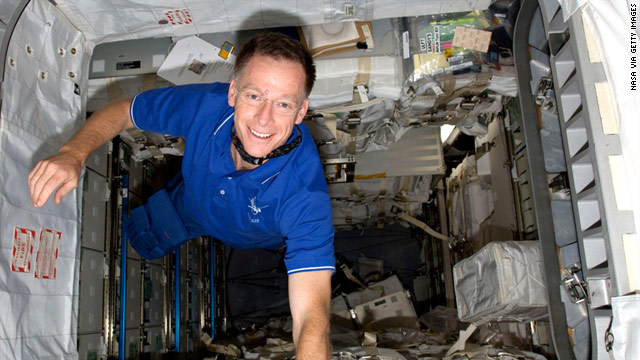 Shuttle commander Chris Ferguson was among the astronauts who spoke with CNN from space on Wednesday.
