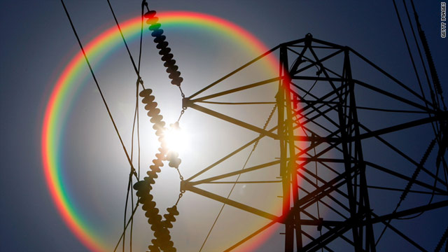 The heat wave is straining the nation's power grid, but one utility official says it plans years in advance for such events.