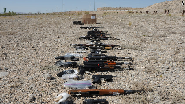 """Under the """"Fast and Furious"""" program, ATF agents allowed weapons bought in the U.S. to """"walk"""" into Mexico."""