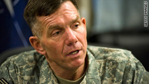 Lt. Gen. William Caldwell had been accused of ordering an Army officer to conduct psychological operations to try to influence congressional members.
