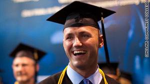 Sollar graduated with honors from Sinclair in June 2011.