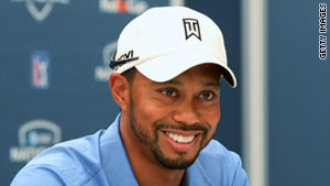 Tiger Woods will be back for a tournament in Akron, Ohio, that starts August 3.