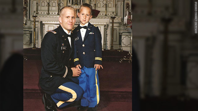 This photo of Bryan and Braydon Nichols was taken a few years ago and made available to CNN.com by Jessica Nichols.