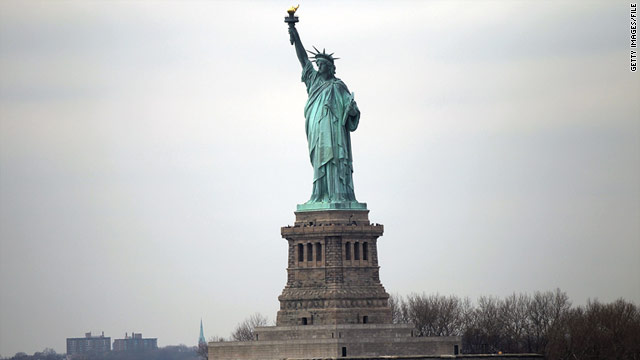 Liberty Island will remain open and the statue largely unobstructed from view as renovations take place.