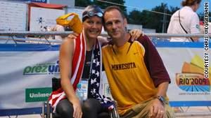 Weggemann gives much of the credit for her success to her coach, Jim Andersen.