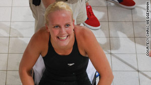 Ahead of the London games, Weggemann -- on a two-year break from college -- will train six days a week in the pool.