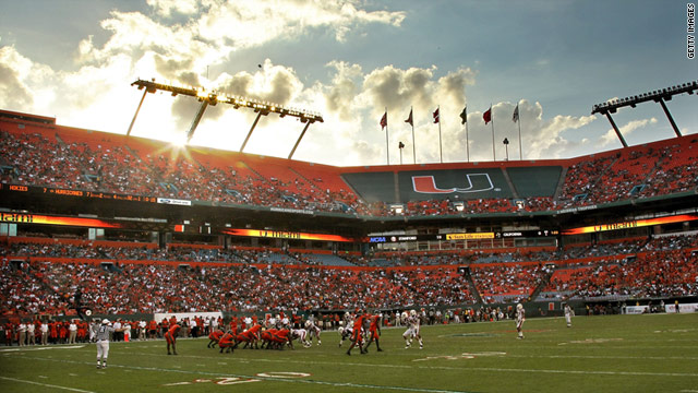 A former booster says for eight years he showered dozens of Miami players with cash and gifts and also supplied prostitutes.
