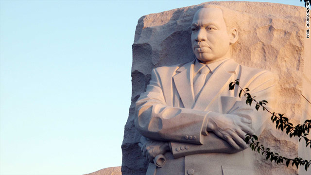 Groundbreaking for the Martin Luther King Jr. memorial took place in November 2006, and the dedication is Sunday.