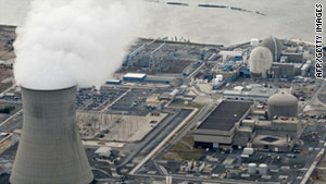 All of the plants are required to shut down their reactors ahead of predicted hurricane-force winds, the NRC said.