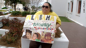 Alabama's immigration law has been the subject of many protests since it was signed in June.