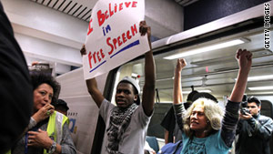 Demonstrators have targeted BART for, among other reasons, cutting cell phone service to try to thwart protests.