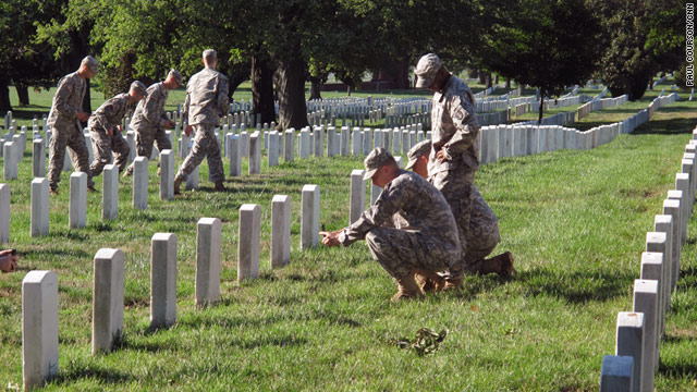 After discovering hundreds of misidentified or mislabeled graves, Arlington National Cemetery created an accurate database.