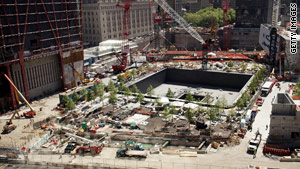 The 9/11 memorial includes more than 400 trees, including a &quot;Survivor Tree&quot; from the old World Trade Center.