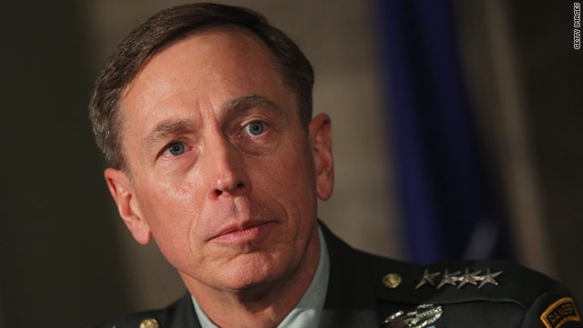 """I wanted this job. I am taking off the uniform I have worn for 37 years to do this the right way,"" Petraeus said earlier this year."