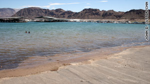 Lake Mead is Las Vegas' main source of water, but climate scientists say it could dry up as soon as 2021.