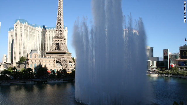 Despite the lavish show of water on the Las Vegas strip, the city is actually trying to live within a water budget.
