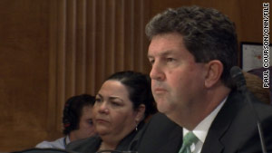 Postmaster General Patrick Donahoe will insist Tuesday that the trust fund be re-scaled.