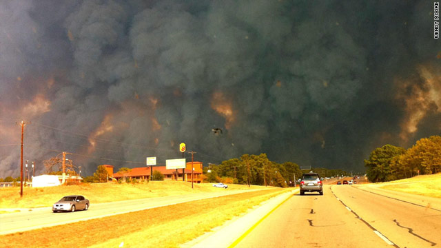 Bastrop Texas wildfires