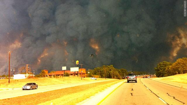 Bastrop Texas wildfires