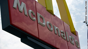 One woman died and at least eight people went to a hospital after being exposed to an unidentified odor at a McDonald's.