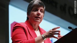 Homeland Security Secretary Janet Napolitano said she expects funding for the department to begin to level off.
