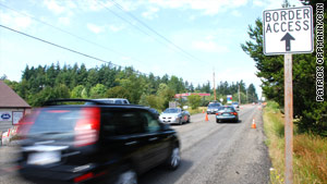 Border town Point Roberts, Washington, has become even more isolated since the attacks of 9/11.