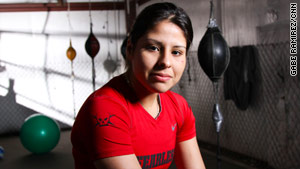 At 22, Marlen Esparza is a national boxing champ fighting to box at the 2012 Olympics.