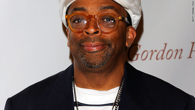 """When I wrote that film, in no way we'd think there would be an African-American president,"" director Spike Lee said."