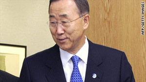 "U.N. Secretary-General Ban Ki-moon called Monday's discussion a ""landmark meeting."""