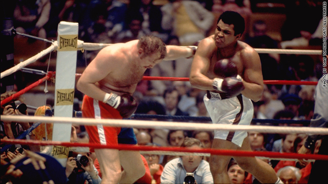 "Chuck Wepner went almost 15 rounds with champ Muhammad Ali in 1975 and inspired the ""Rocky"" movies"
