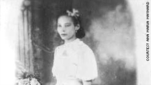 Ana Mar�a Tekina-eir� Maynard's grandmother is pictured in Puerto Rico about 1938.