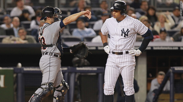 The Detroit Tigers defeated the New York Yankees at Yankee Stadium on Thursday to advance to the ALCS.