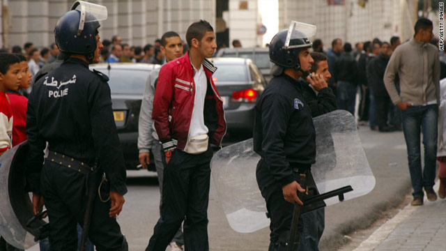 An Algerian soccer league canceled its weekend matches after riots over rising food prices across the country this week.