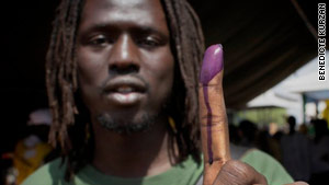 """Rapper Emmanuel Jal worked with a singer from the north to produce """"Ceasefire"""" but voted for independence."""