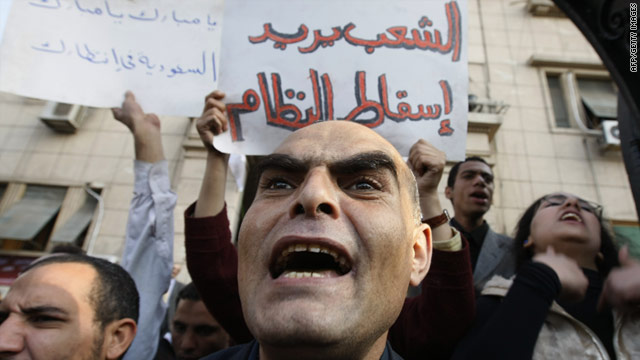 Protesters in Egypt are responding in large part to a widening gap between rich and poor, one expert says.
