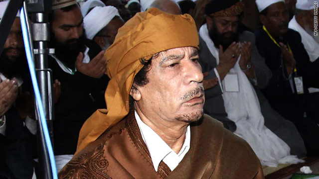 Gadhafi: &#039;Dead, alive, victorious, it doesn&#039;t matter&#039;