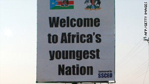 Southern Sudan will become a separate country, independent from the north, on July 9.