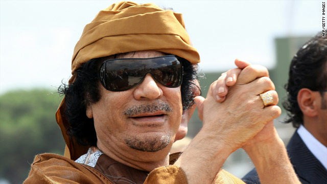 Gadhafi&#039;s about-face