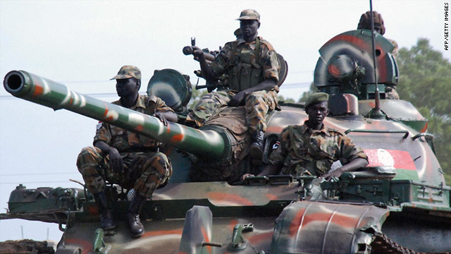 Rebel leader George Athor's forces have clashed with the Sudan People's Liberation Army (pictured in 2009) recently.