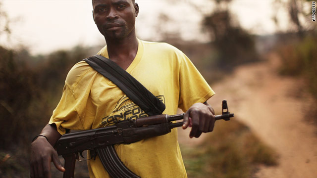 A Sudanese Peoples Liberation Army (SPLA) member in January: An SPLA spokesman says militias have carried out attacks.