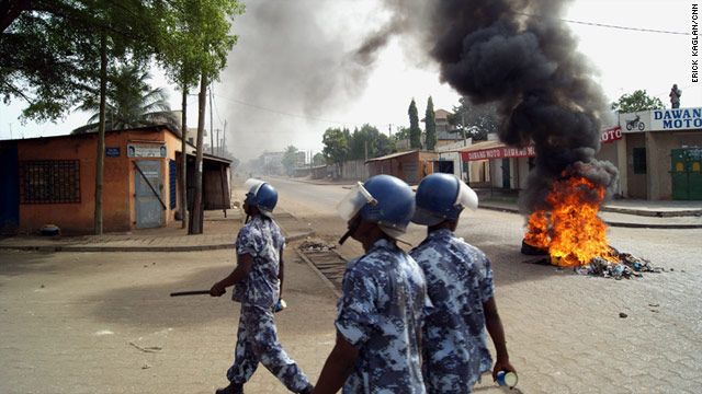 Demonstrations were held in Lome, Togo, on Thursday against the government's efforts to regulate protest marches.